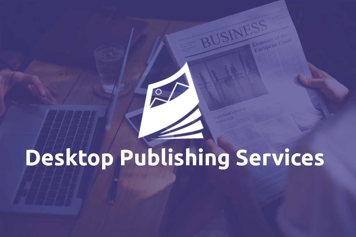 Desktop Publishing Services